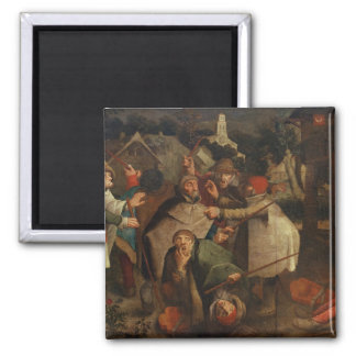 The Fight of the Blind Men, 1643 Magnet