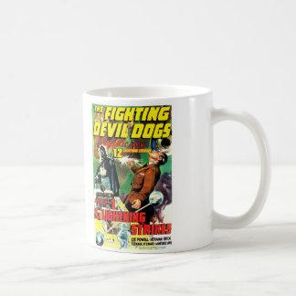 The Fighting Devil Dogs Basic White Mug