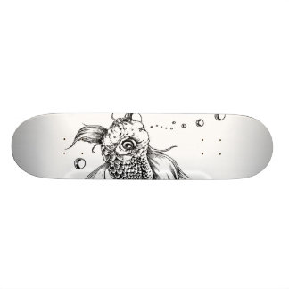 The Fighting Fish Skateboard