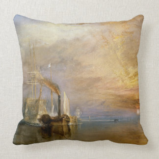 The Fighting Temeraire 1839 Pillow