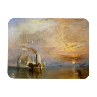 The Fighting Temeraire, 1839 Rectangular Magnets