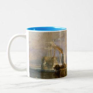 The Fighting Temeraire, 1839 Two-Tone Coffee Mug