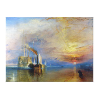 The Fighting Temeraire by J. M. W. Turner Canvas Print