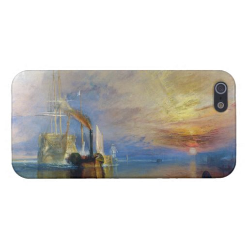 The Fighting Temeraire by J. M. W. Turner iPhone 5 Covers