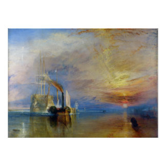 The Fighting Temeraire by J. M. W. Turner Poster