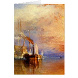 The Fighting Temeraire Card