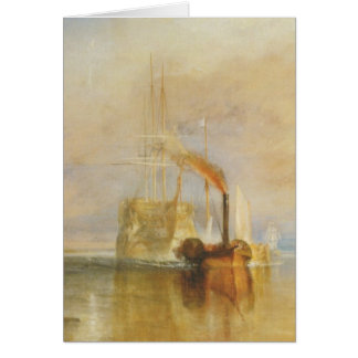 The Fighting Temeraire Greeting Card