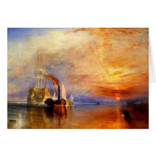 The Fighting Temeraire, J. M. W. Turner Cards