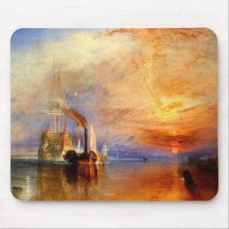 The Fighting Temeraire, J. M. W. Turner Mousepad