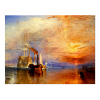The Fighting Temeraire J M W Turner Post Cards