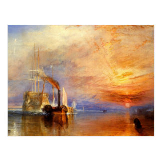 The Fighting Temeraire Post Card