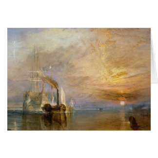 "The ""Fighting Temeraire"" Tugged Card"