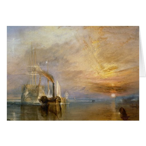 """The """"Fighting Temeraire"""" Tugged Greeting Cards"""