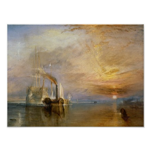 """The """"Fighting Temeraire"""" Tugged Posters"""