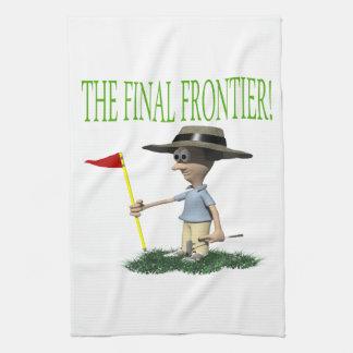 The Final Frontier Tea Towel