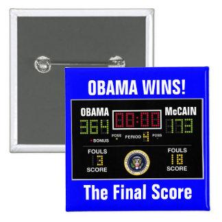 The Final Score Buttons