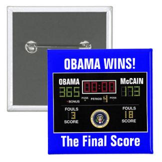 The Final Score Pin