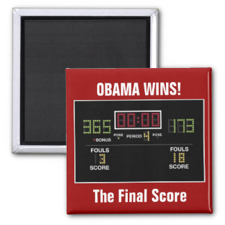 The Final Score Magnet