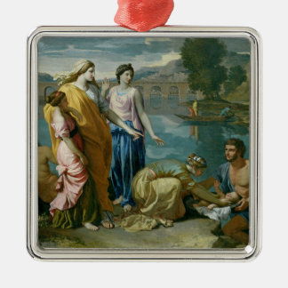 The Finding of Moses, 1638 Christmas Ornament
