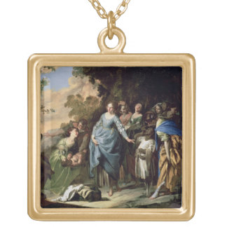 The Finding of Moses, c.1650-56 (oil on canvas) Necklaces