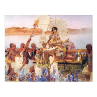 The Finding of Moses, Sir Lawrence Alma-Tadema Postcard