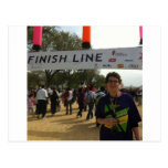 The Finish Line! Postcard