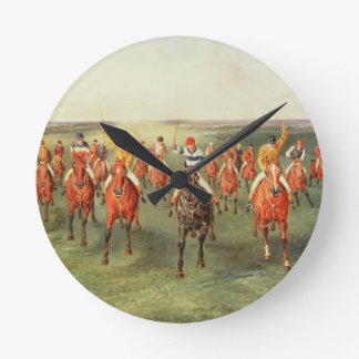 The Finish of the Two Thousand Guineas at Newmarke Wallclocks