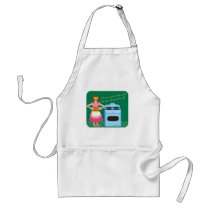 The Fire Alarm Means Dinner Time Standard Apron