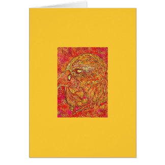 The Fire Eagle Greeting Card