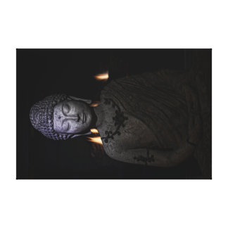 the fire is within the Buddha Canvas Print