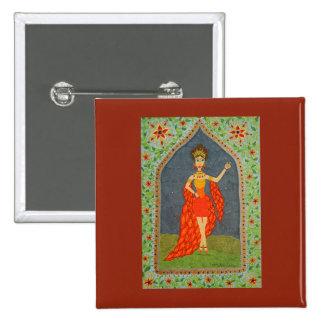 The Firebird (Fairy Tale Fashion #1) 15 Cm Square Badge
