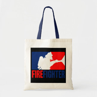 The Firefighter Action Budget Tote Bag