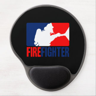 The Firefighter Headliner in Tri-colors Gel Mouse Pad