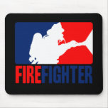 The Firefighter Mousepads