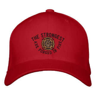 The Firefighter Saying Custom Embroidery Embroidered Baseball Cap