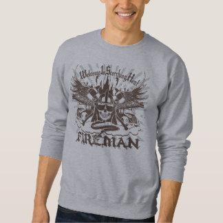 The fireman pullover sweatshirts