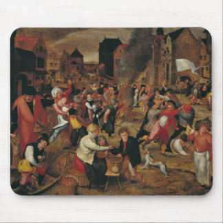The Fires of St. Martin Mouse Mat