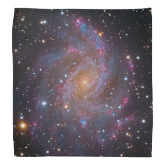 The Fireworks Galaxy Outer Space Photo Bandana