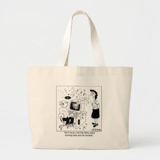 The First 30 Years Here Are the Hardest Jumbo Tote Bag