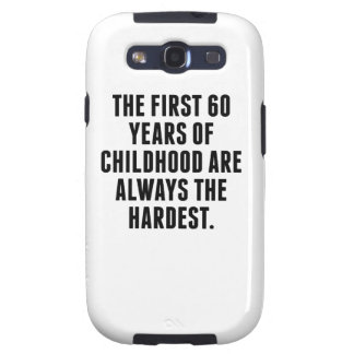 The First 60 Years Of Childhood Galaxy S3 Covers