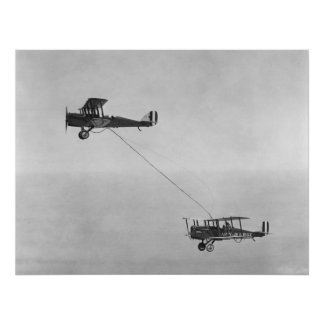 The First Aerial Refueling - Photo Poster