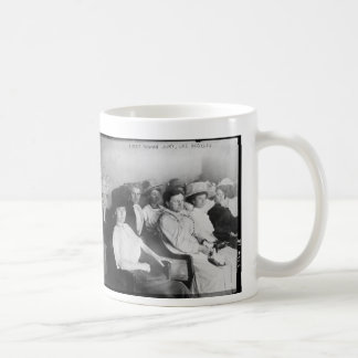 The First All Woman Jury in Las Angeles from 1911 Basic White Mug
