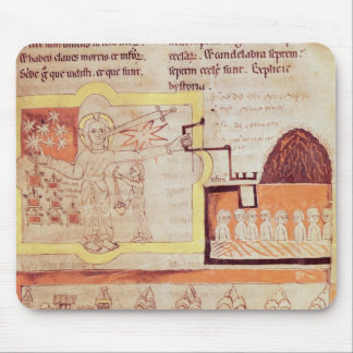 The First Appearance of the Son of Man Mouse Mat