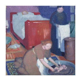 The First Bath, c.1899 Canvas Print