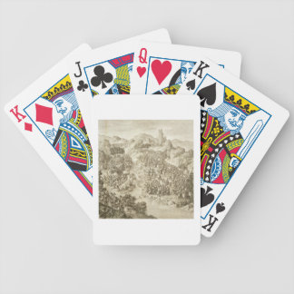 The First Battle between the Chinese Army and that Poker Deck
