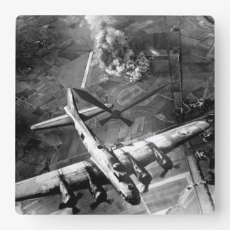 """The first big raid by the 8th Air Force_War Image Wallclock"