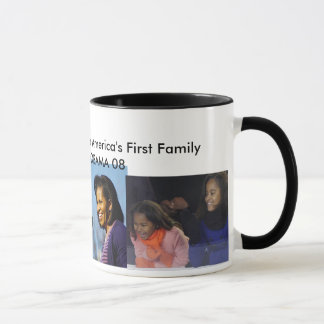 THE FIRST BLACK FIRST FAMAILY- Customized Mug