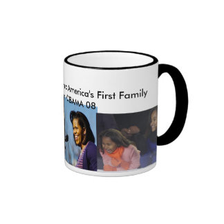 THE FIRST BLACK FIRST FAMAILY- Customized Ringer Mug