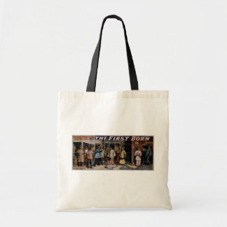The First Born, 'My Beautiful boy' Vintage Theater Canvas Bags