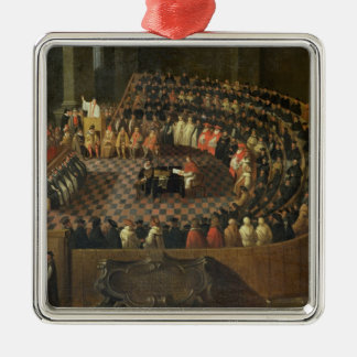 The First Chapter of the 25th Council of Trent, Ve Christmas Ornament